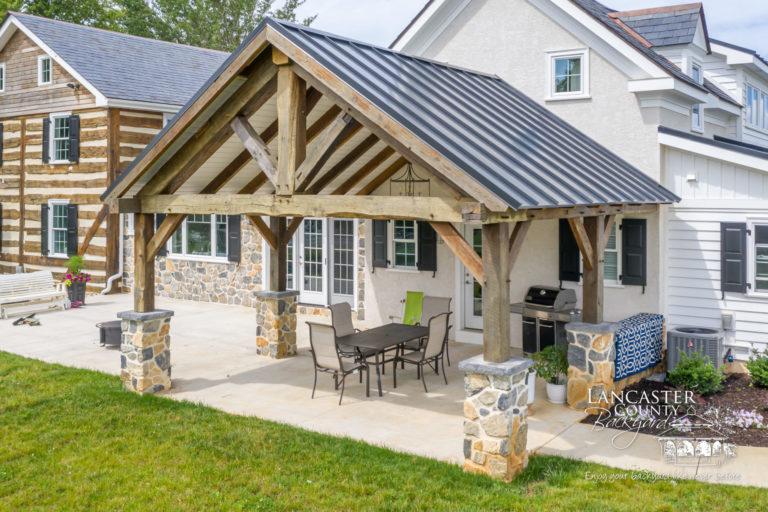 Boulder Ridge Reclaimed Pavilion & Kitchen Ceiling 2021