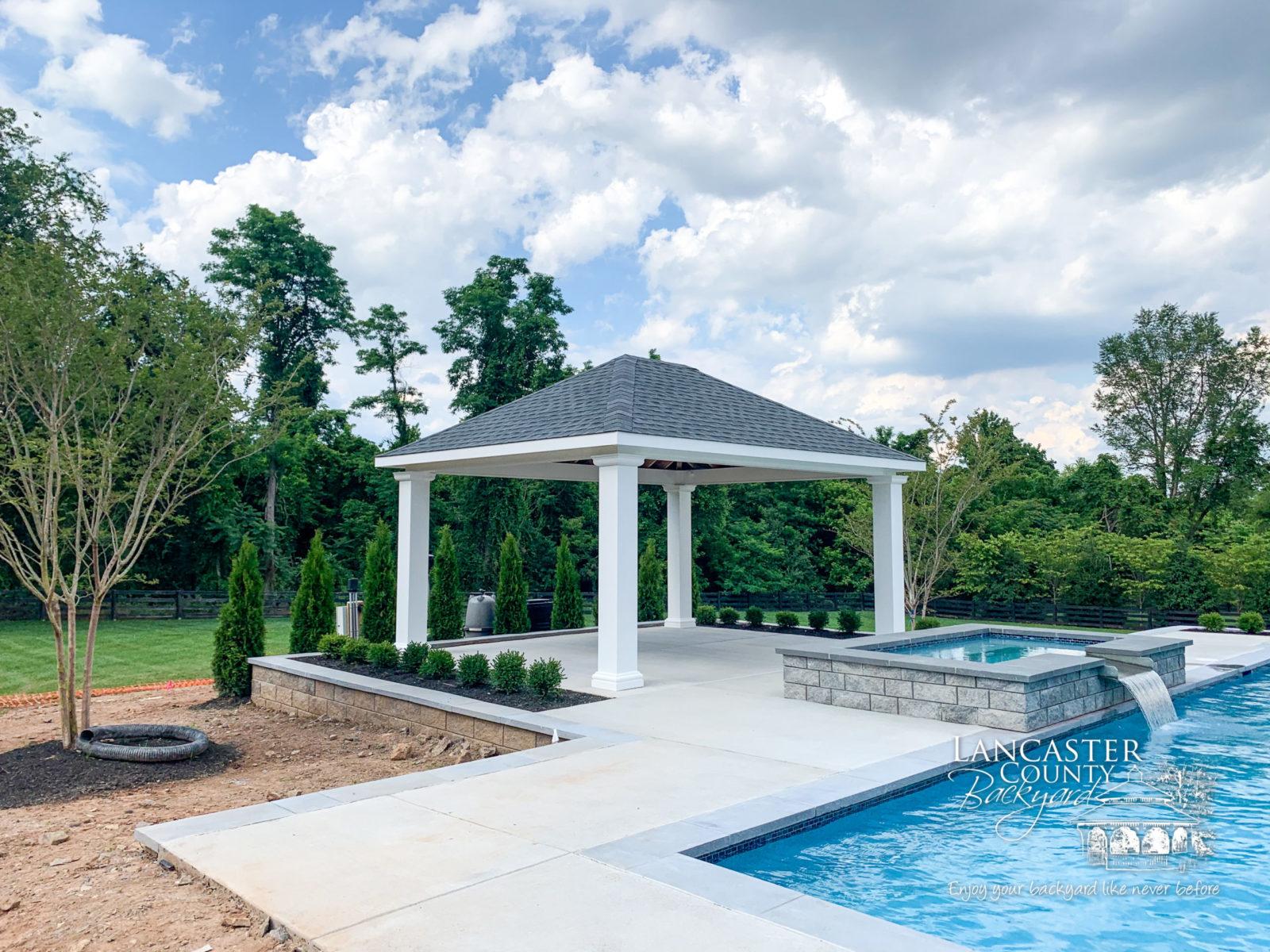 14x18 caribbean modern pavilion in lancaster pa