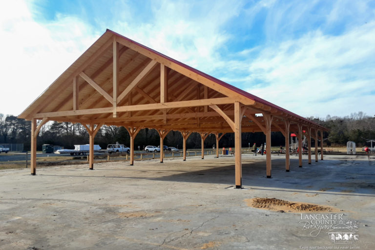 kingston timber frame pavilion 1