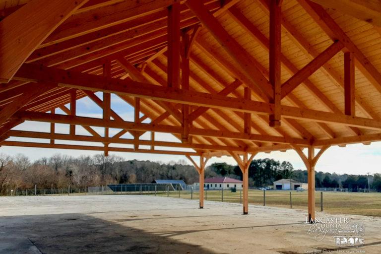 kingston timber frame pavilion