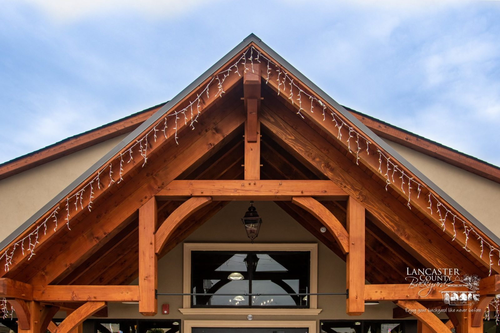 timber frame storefront in new jersey
