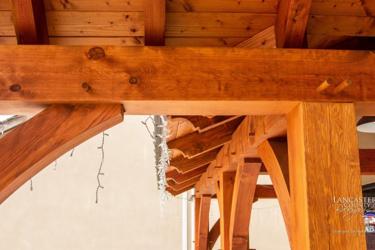 custom timber frame joinery in new jersey
