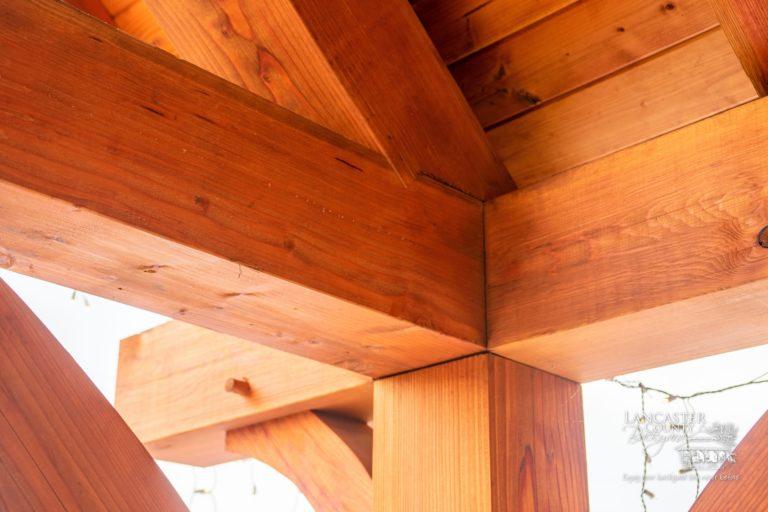 custom timber frame joinery