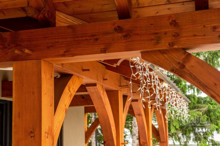 beautiful majestic timber framing