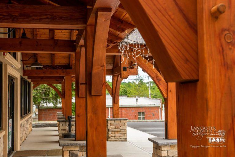 beautiful custom timber frame