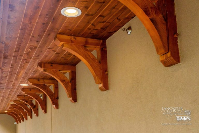 beautiful custom timber framing