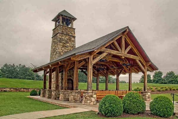 timber framed founders chapel
