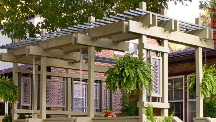 garden pergola ideas near lancaster pa