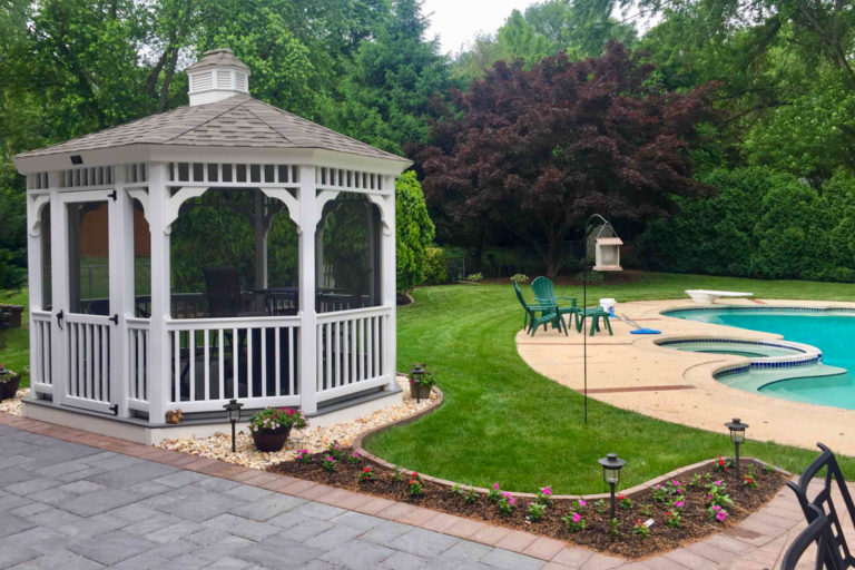west chester pool house gazebo