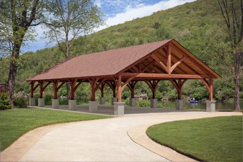 timber frame pavilion pricing