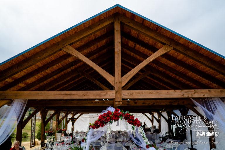 larage wedding pavilion