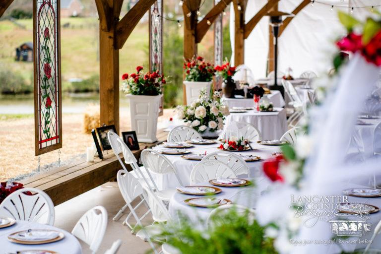 weeding pavilion reception
