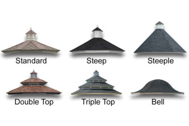 gazebo roof options