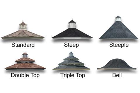gazebo roof options
