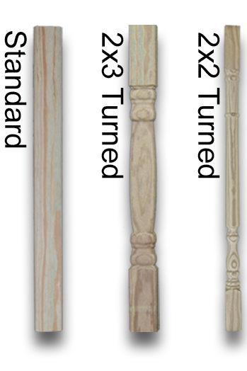 wood gazebo balusters