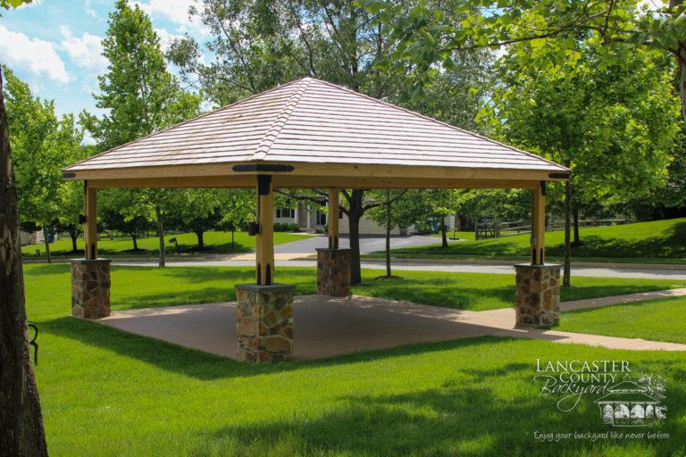 20x20 wood pavilion1