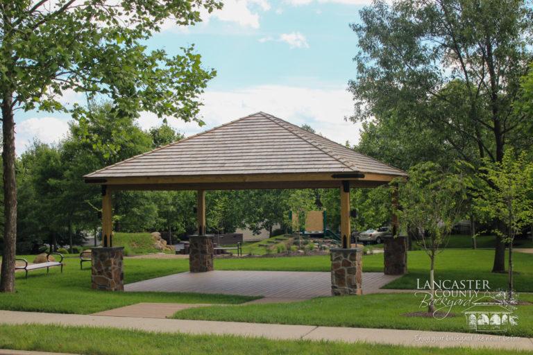20x20 wood pavilion13