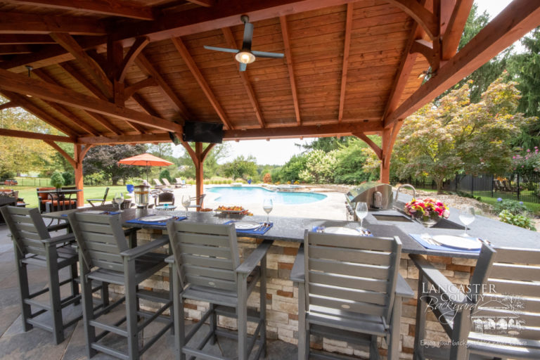 20x40 Kingston timber frame pavilions