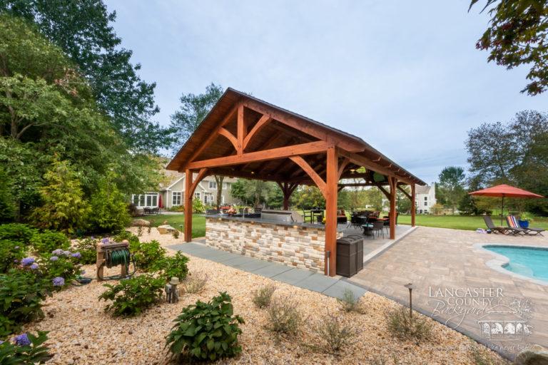 20x40 Kingston timber frame pavilion