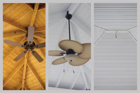 modern pavilions ceiling options