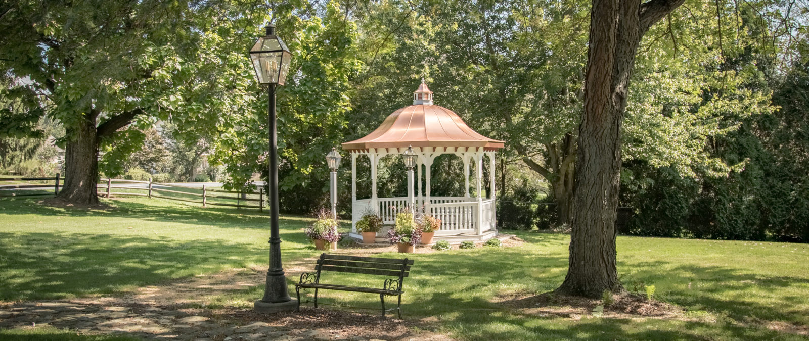 12' bell copper roof octagon gazebo