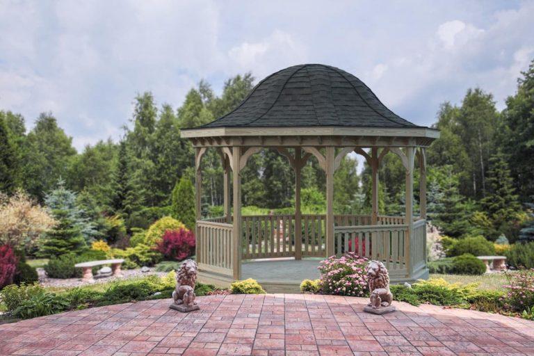 octagon backyard gazebo