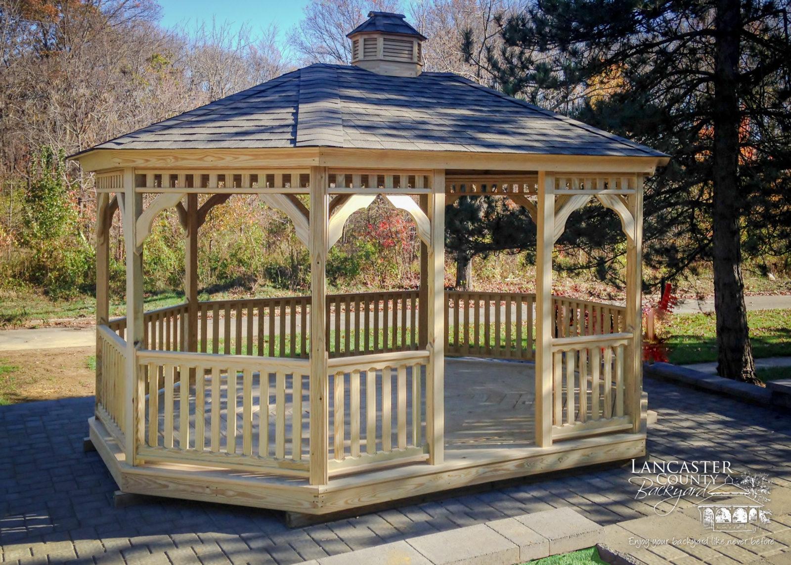 2021 Superb Oval Gazebos Garden Gazebo In Lancaster Pa