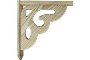 new victorian wood brace